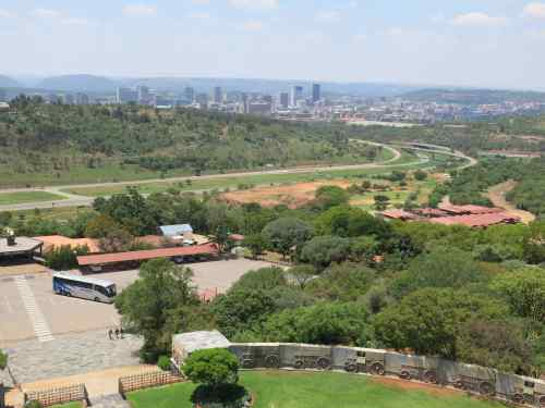 Amazing views of Pretoria can be enjoyed from the top.  The interior houses stories in carved friezes and embroidery of the Voortrekkers amazing feats.