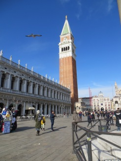 Campanile in St.Mark's Square