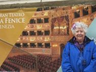 At La Fenice Opera House