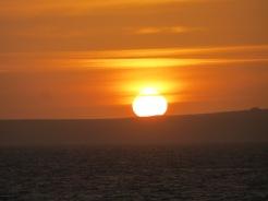 Sunrise over Guernsey