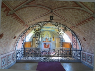 Superb interior painting & screen