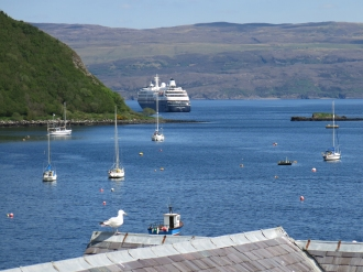 Moored in Portree
