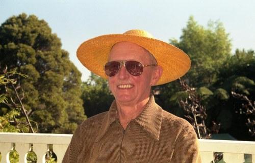 Alan in hat