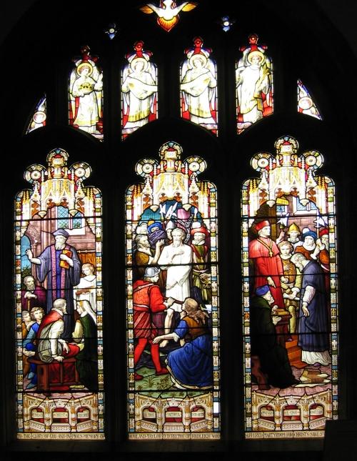 Hadleigh Church Rowland Taylor window